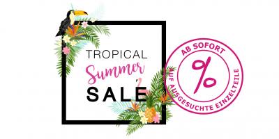 Tropical summer sale auf einzelteile